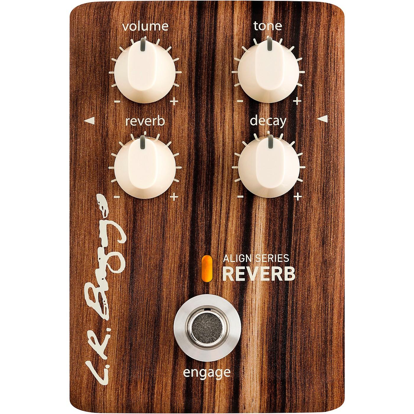 LR Baggs Align Reverb Acoustic Reverb Effects Pedal thumbnail