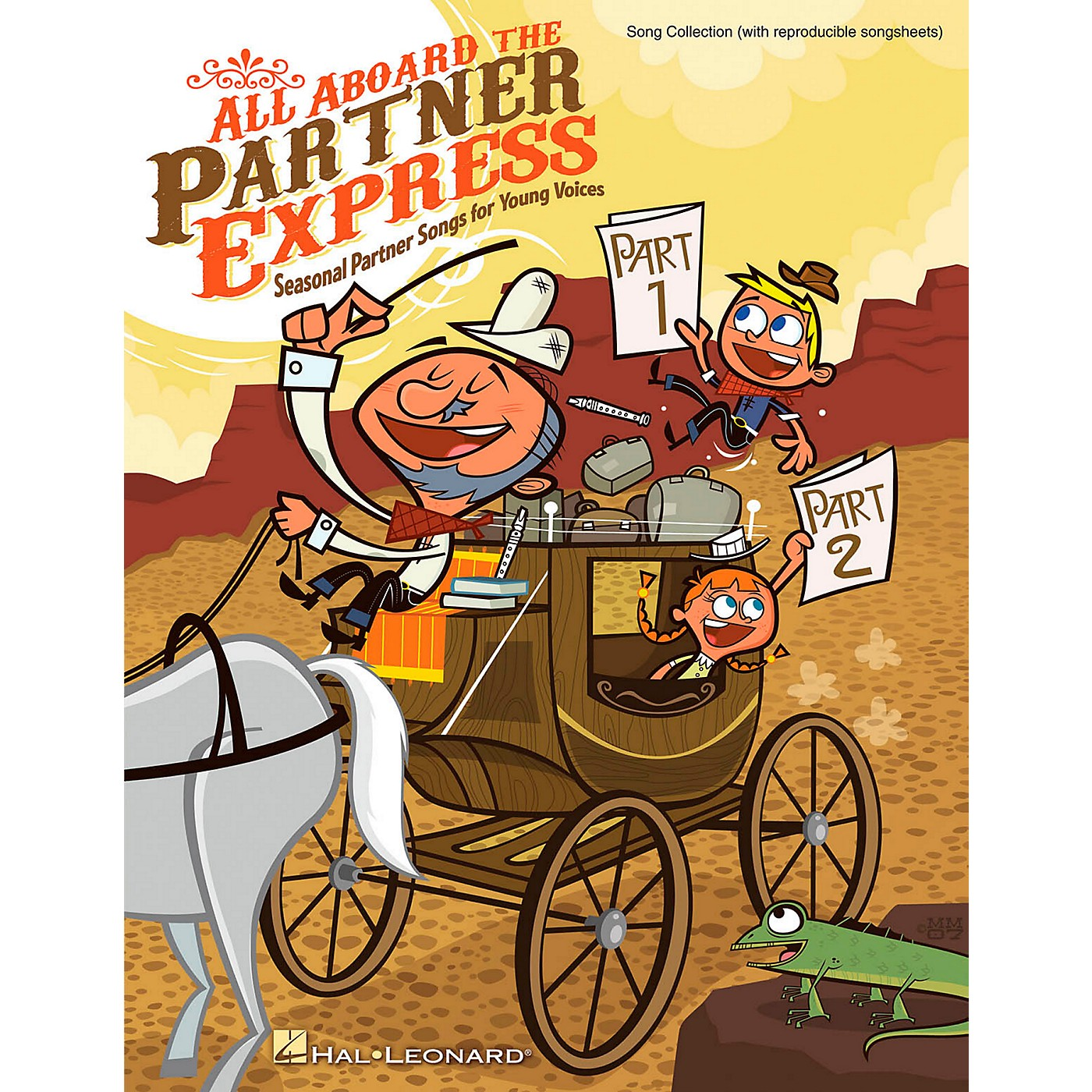 Hal Leonard All Aboard The Partner Express - Seasonal Partner Songs for Young Voices ShowTrax CD thumbnail