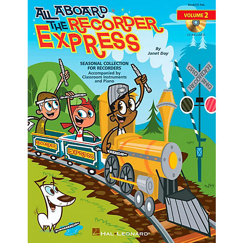 Hal Leonard All Aboard The Recorder Express - Seasonal Collection for Recorders Volume 2 Book/CD thumbnail
