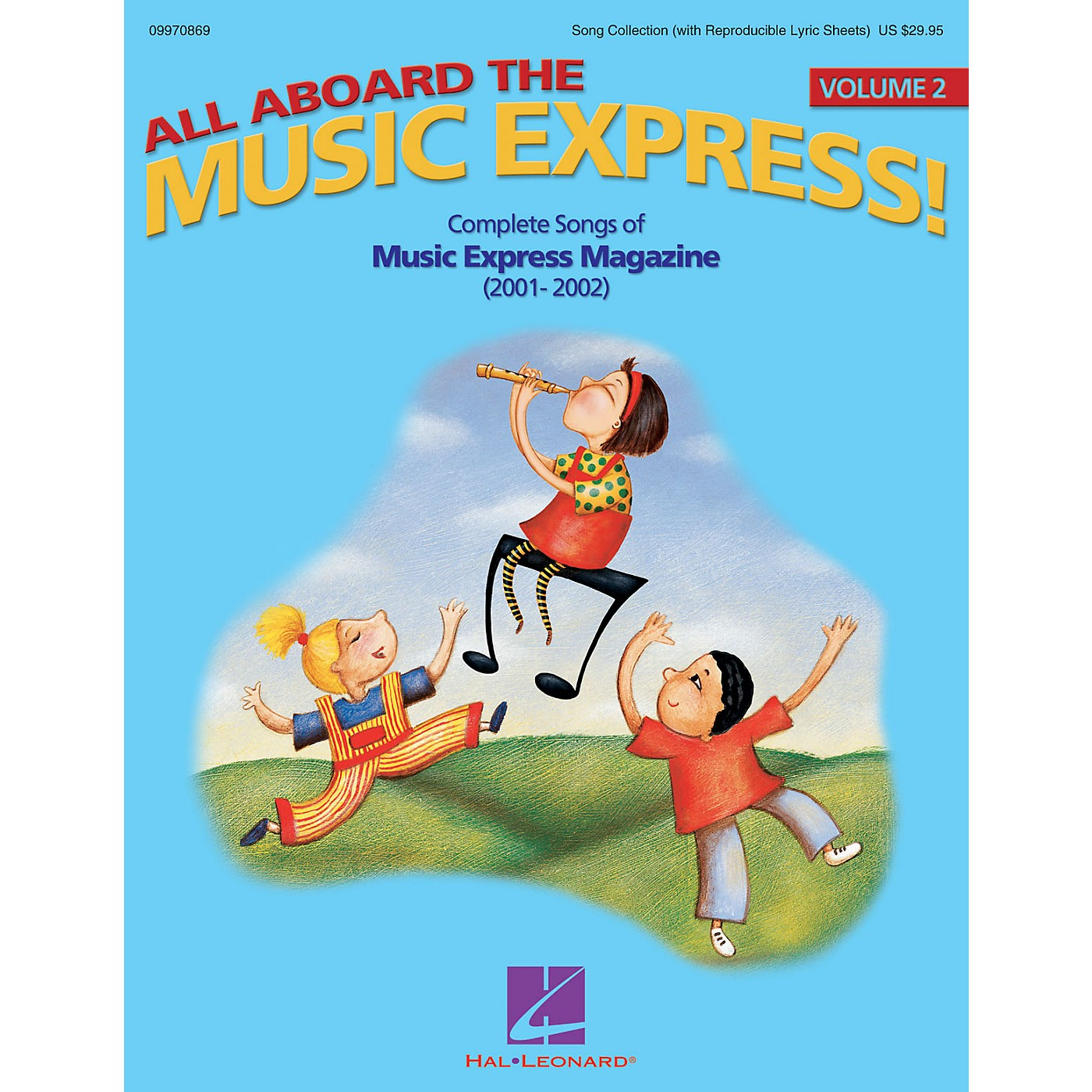 Hal Leonard All Aboard the Music Express Vol. 2 (Complete Songs of Music Express Magazine 2001-2002) COLLECTION thumbnail