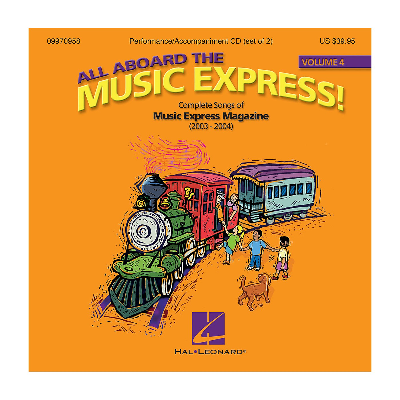 Hal Leonard All Aboard the Music Express Volume 4 (Complete Songs of Music Express Magazine (2003-2004)) ShowTrax CD thumbnail