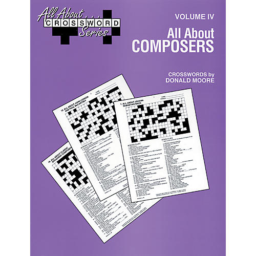 Alfred All About Composers Crossword Puzzles thumbnail