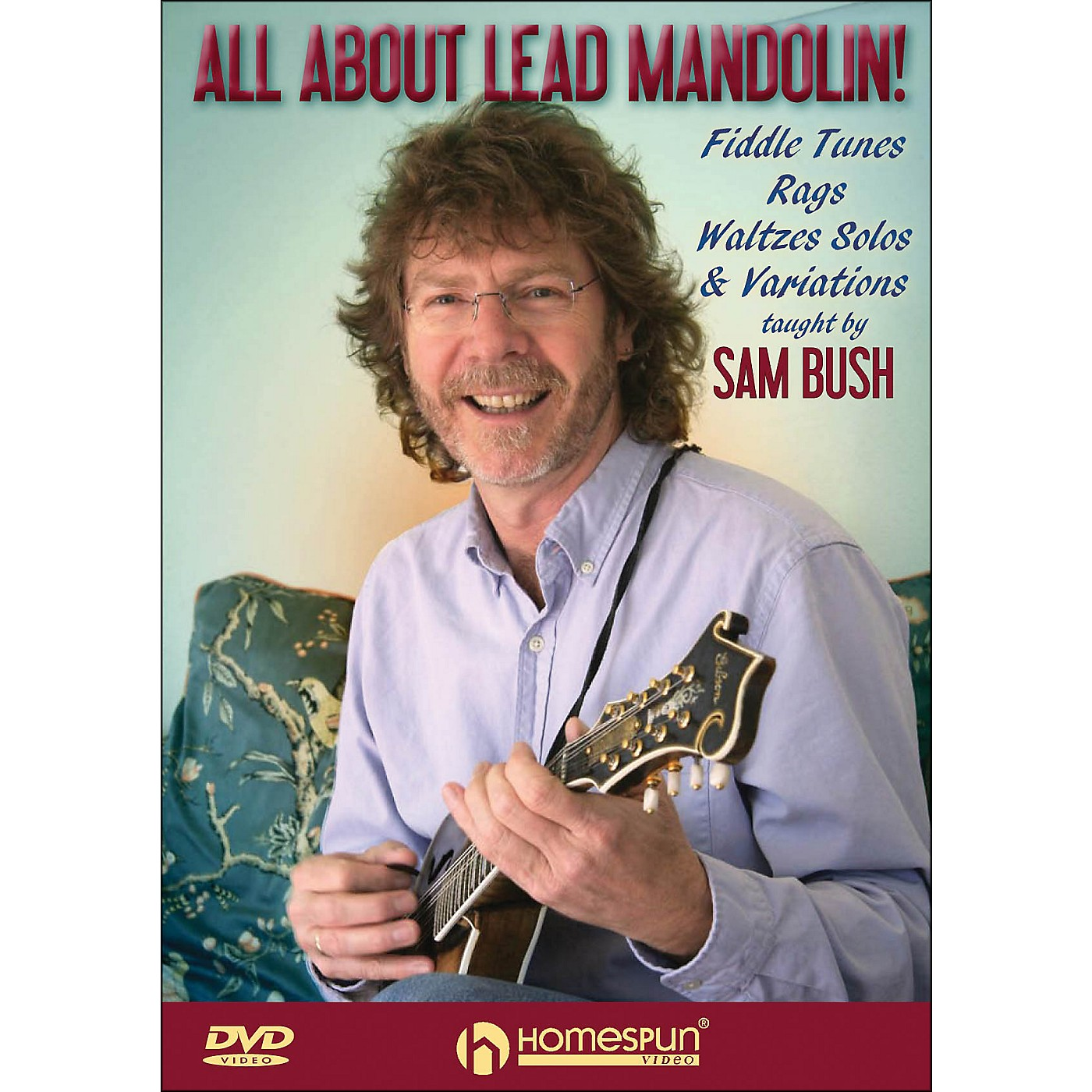 Homespun All About Lead Mandolin Fiddle Tunes Rags Waltzes Solos And Variations DVD thumbnail