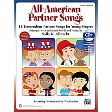 Alfred All-American Partner Songs CD Kit Book & Enhanced CD