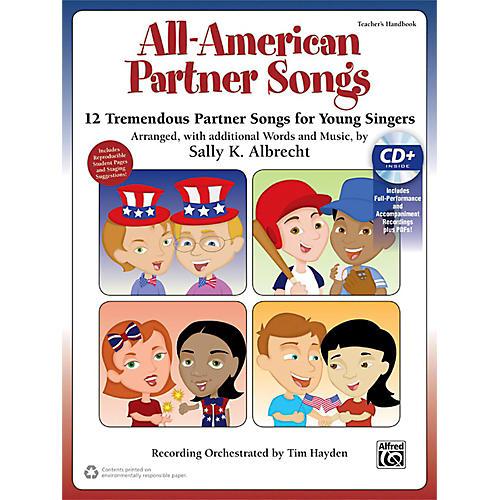 Alfred All-American Partner Songs CD Kit Book & Enhanced CD thumbnail