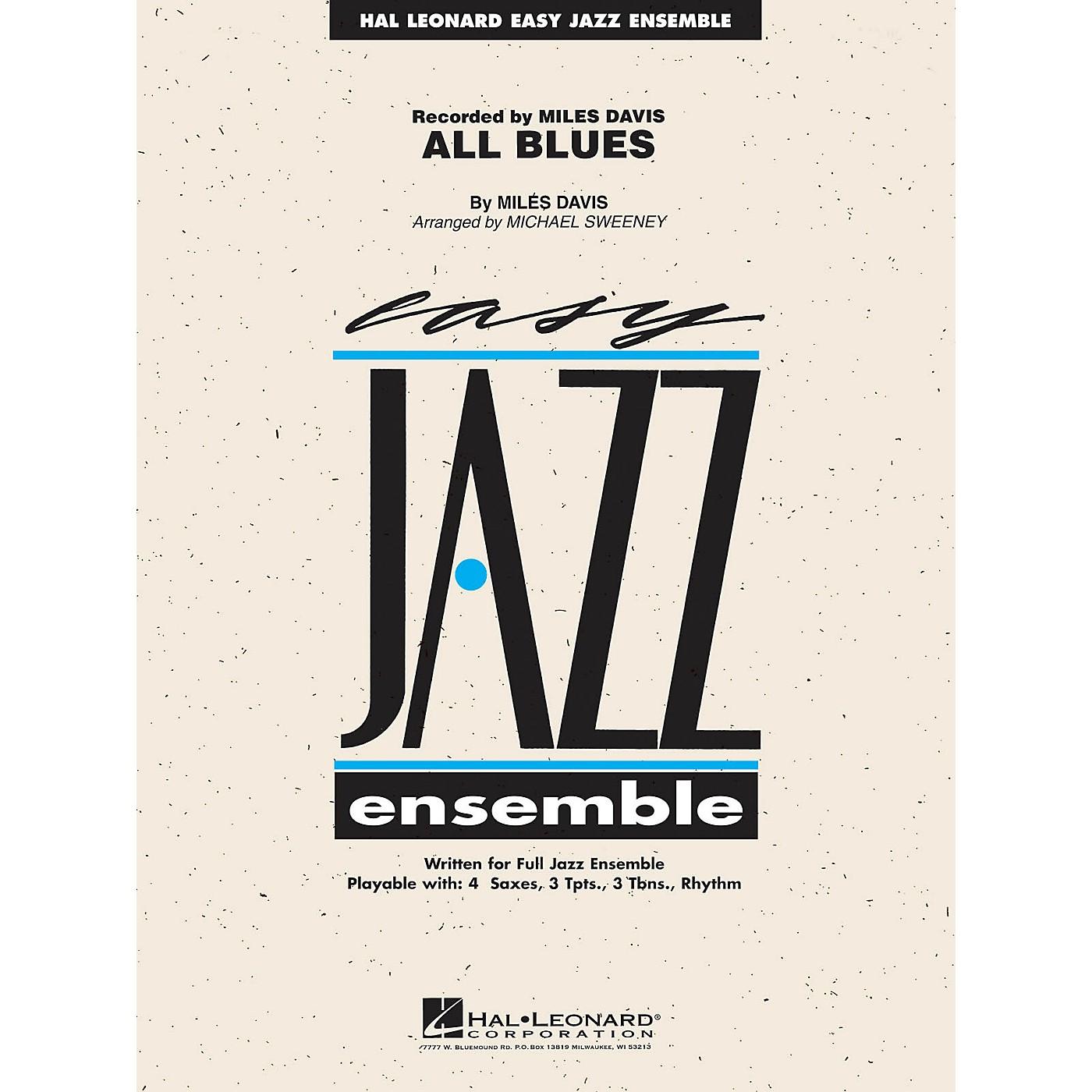 Hal Leonard All Blues Jazz Band Level 2 Arranged by Michael Sweeney thumbnail