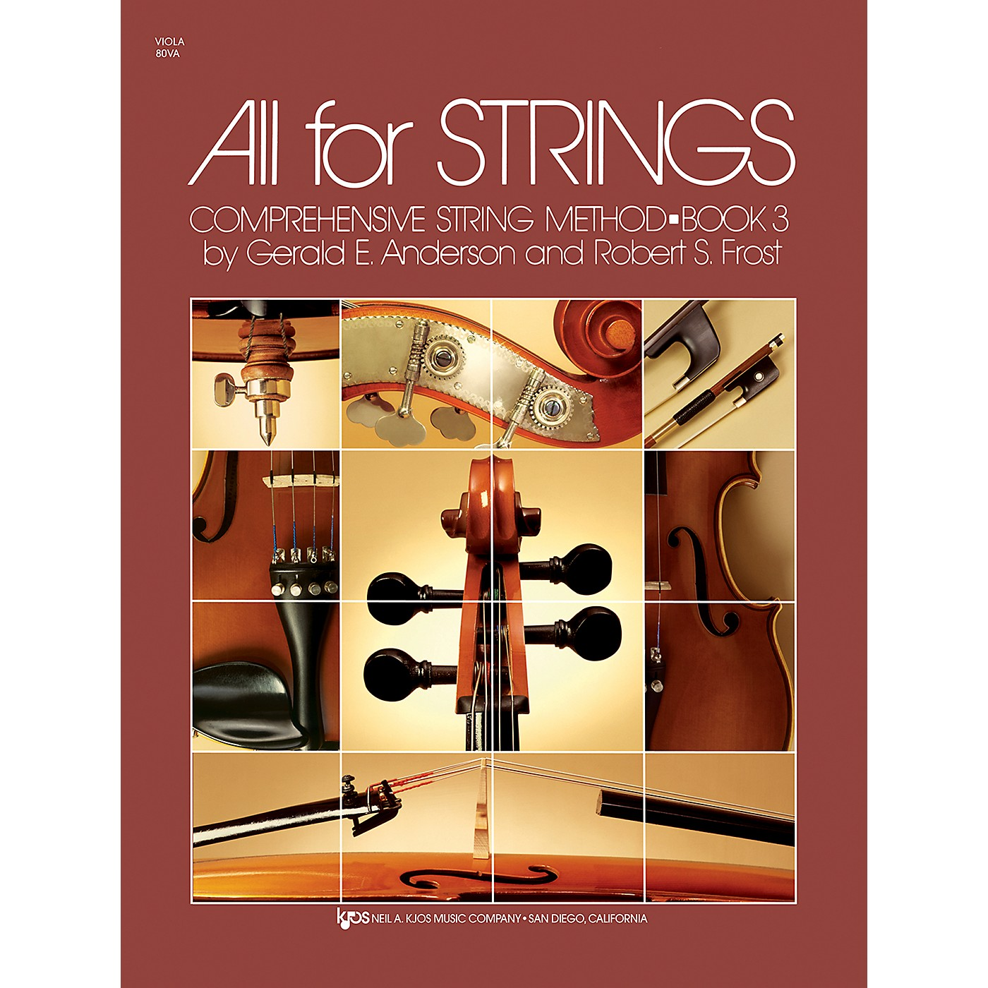 KJOS All For Strings 3 Viola thumbnail