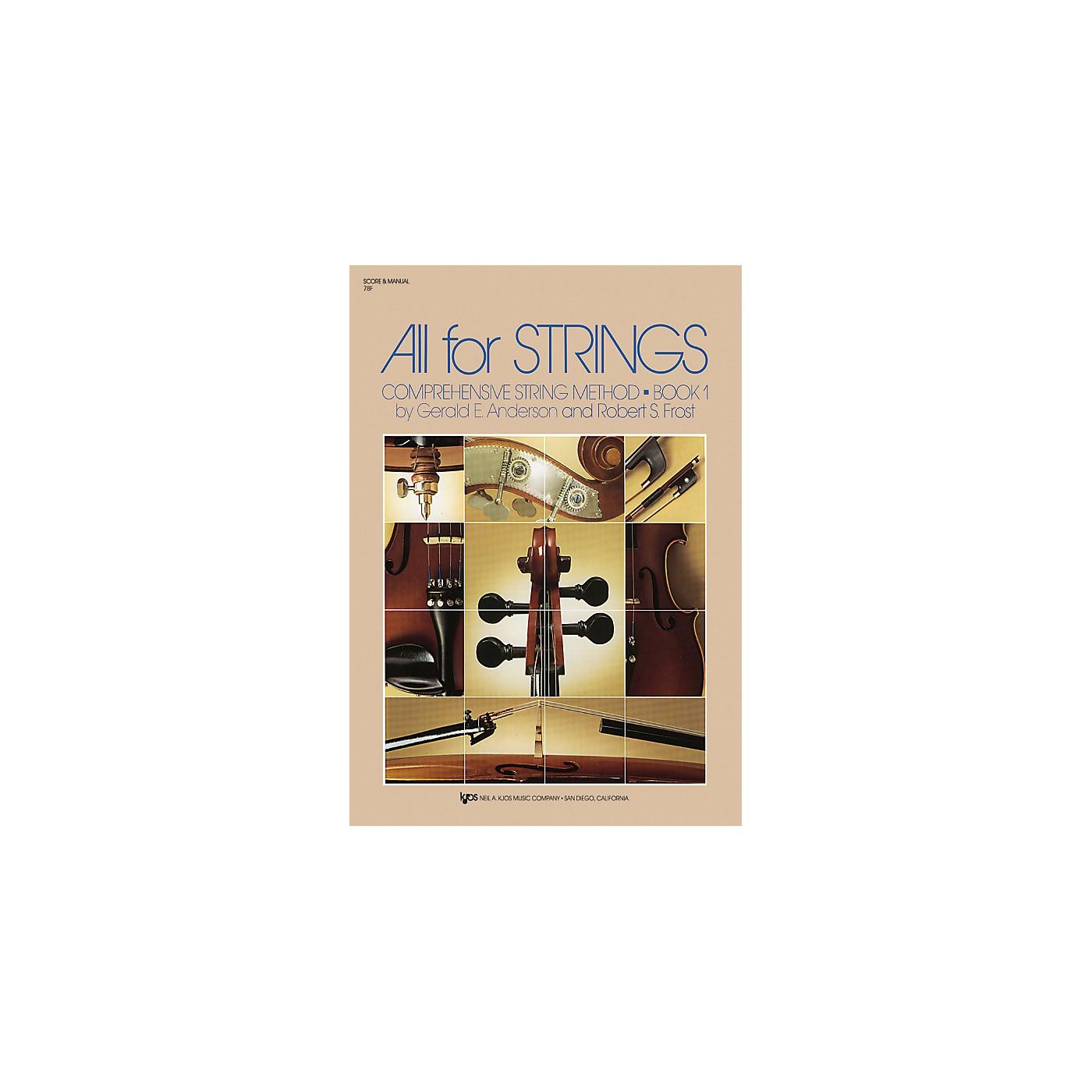 KJOS All For Strings Book 1 thumbnail