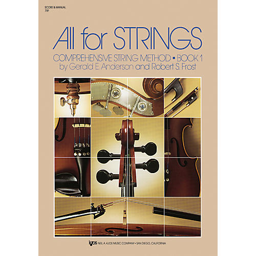KJOS All For Strings Book 1-thumbnail