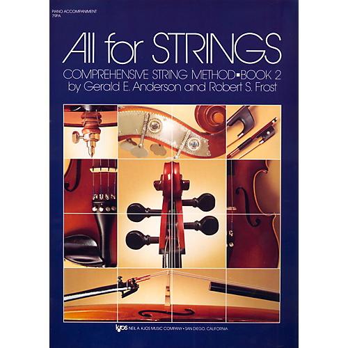 KJOS All For Strings Book 2-PIANO thumbnail