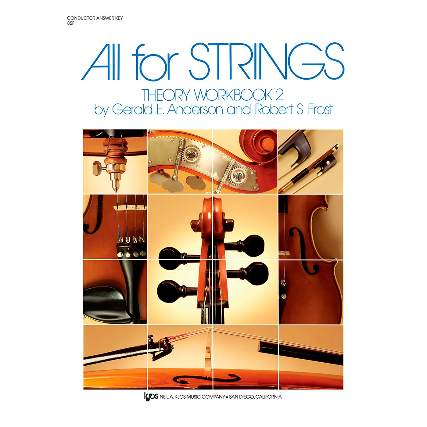 KJOS All For Strings Theory Woorkbook 2-SCORE thumbnail