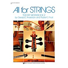 KJOS All For Strings Theory Woorkbook 2-SCORE