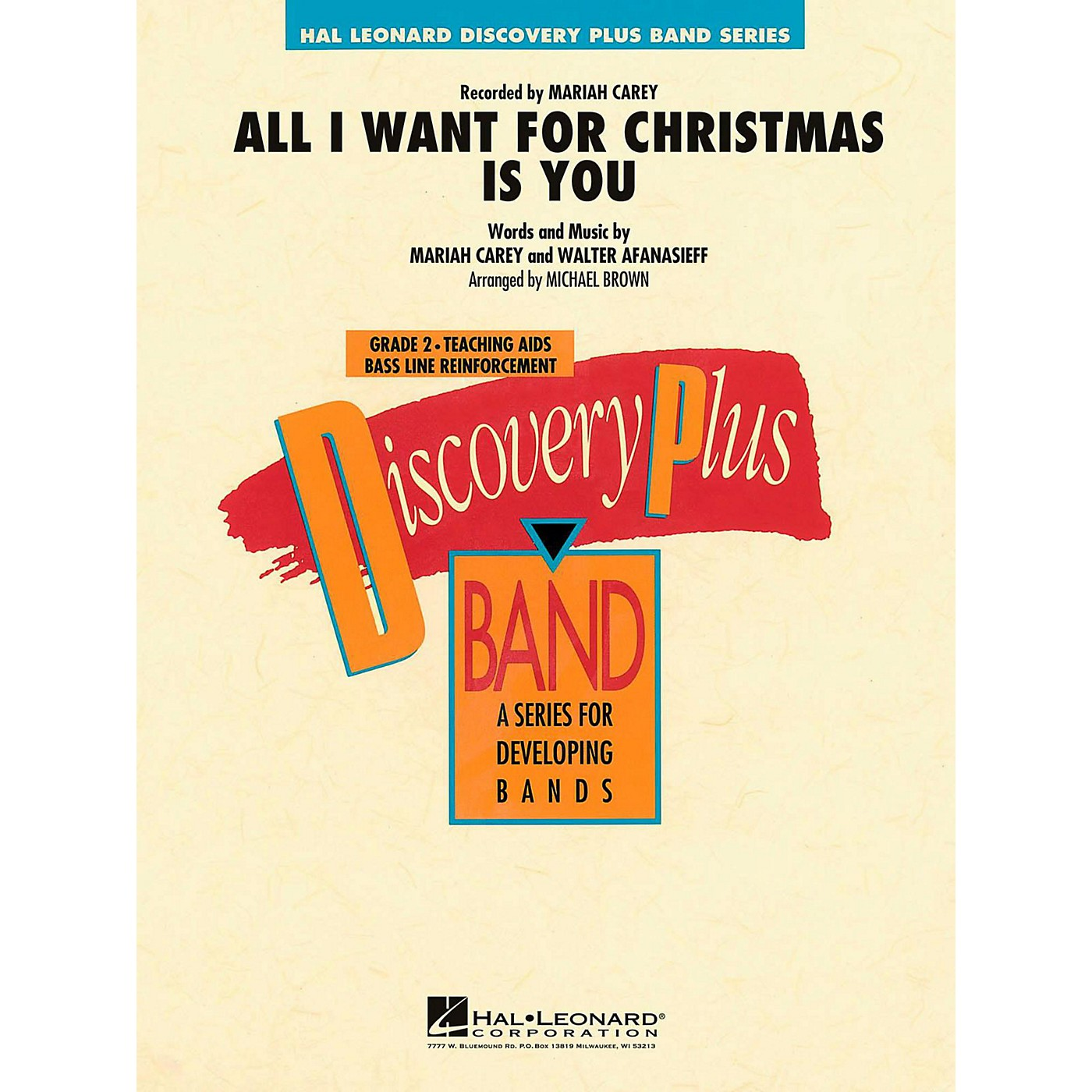 Hal Leonard All I Want For Christmas Is You Concert Band Level 2 thumbnail