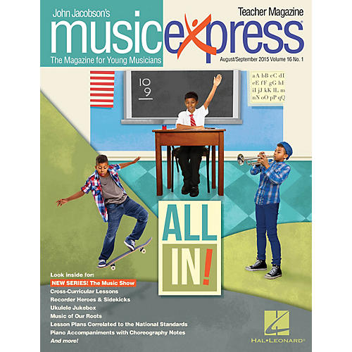 Hal Leonard All In!, Vol. 16 No. 1 Teacher Magazine w/CD Arranged by Emily Crocker thumbnail