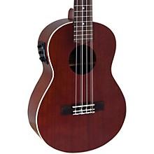 Lanikai All-Mahogany 6-String Tenor Acoustic-Electric Ukulele