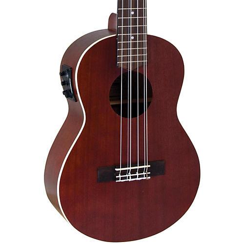 Lanikai All-Mahogany 6-String Tenor Acoustic-Electric Ukulele thumbnail