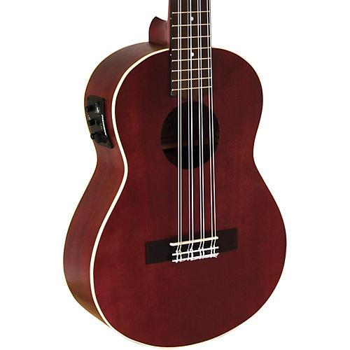Lanikai All Mahogany 8-String Tenor Acoustic-Electric Ukulele thumbnail