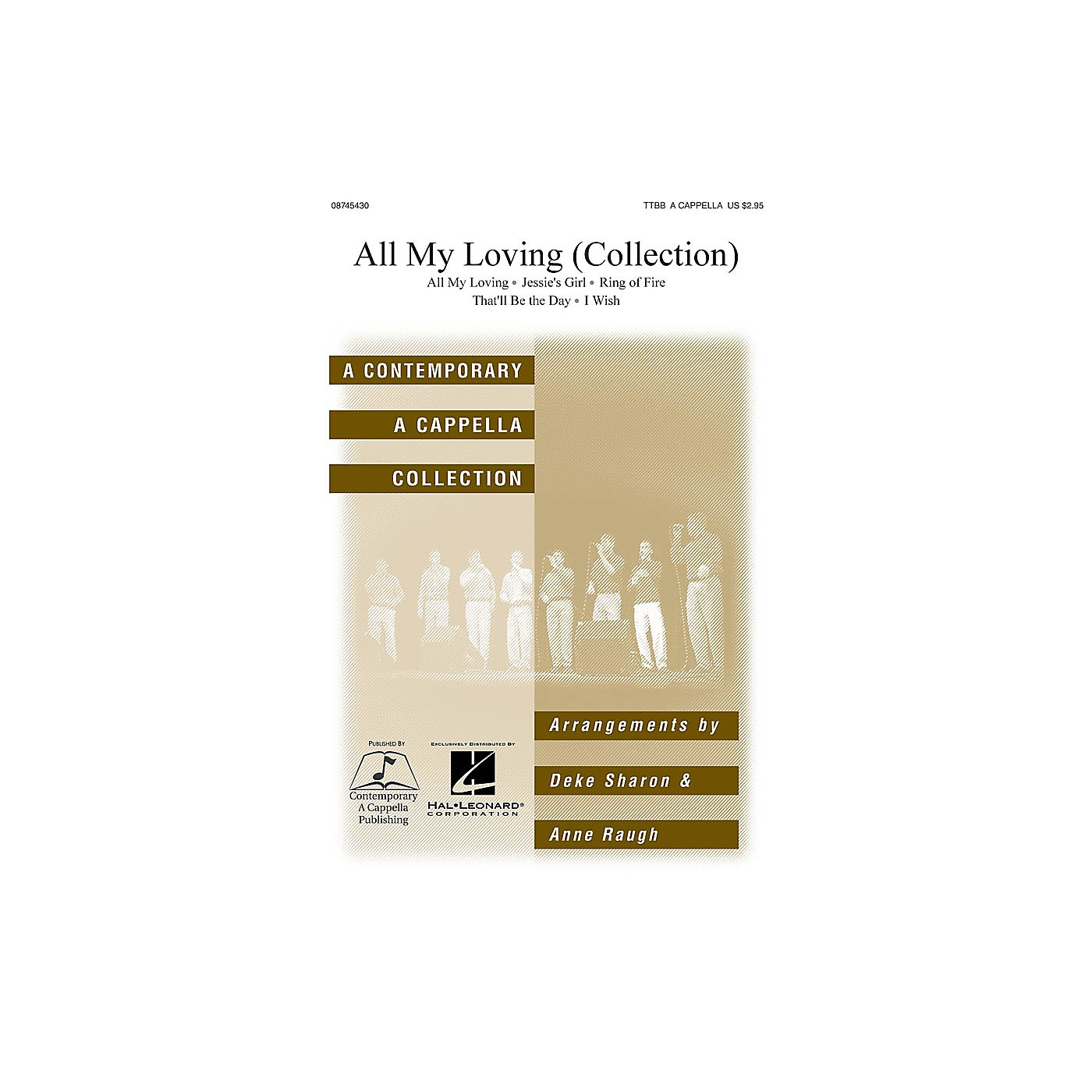 Hal Leonard All My Loving TTBB A Cappella arranged by Deke Sharon thumbnail