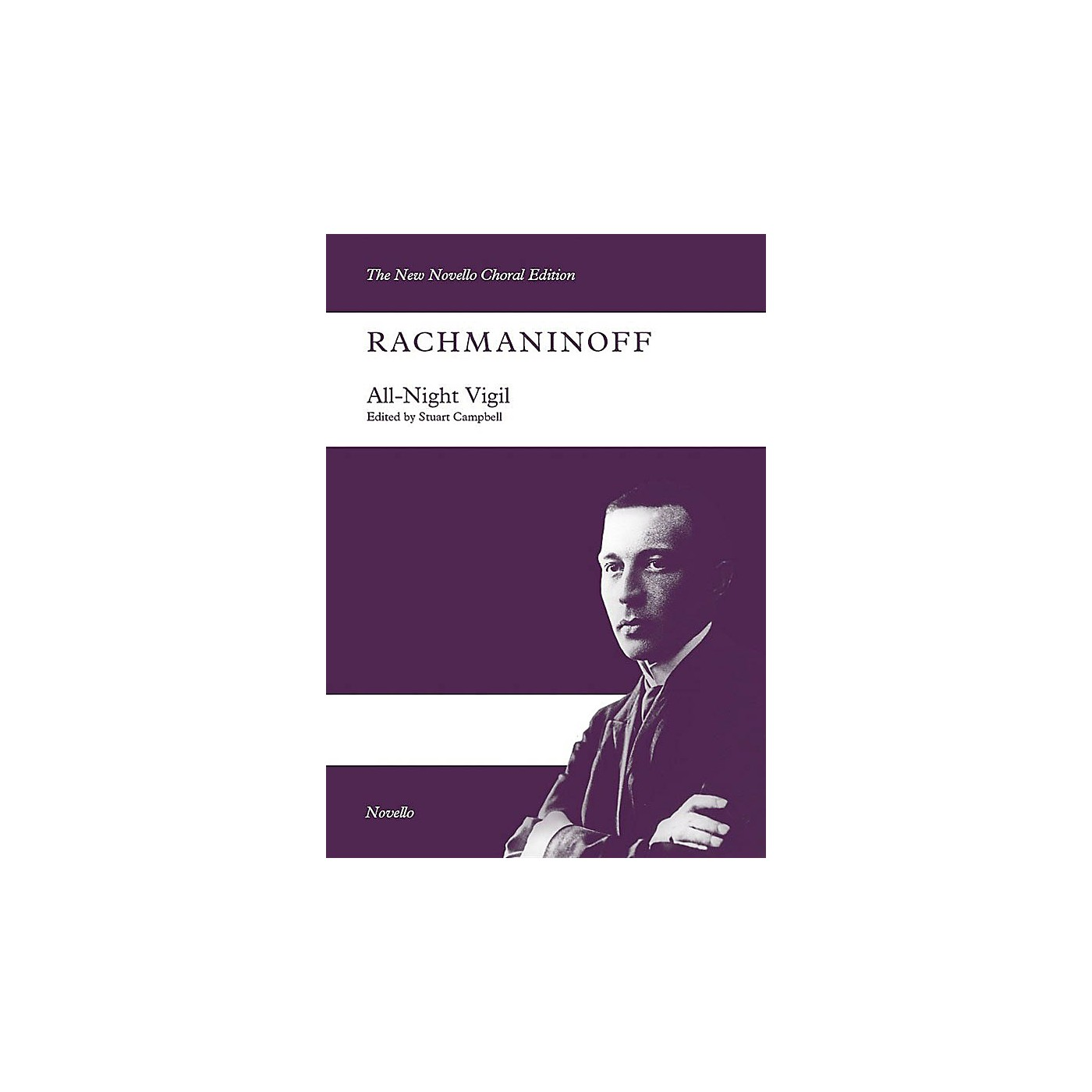 Novello All-Night Vigil (SATB/SATB Vocal Score The New Novello Choral Edition) Vocal Score by Sergei Rachmaninoff thumbnail