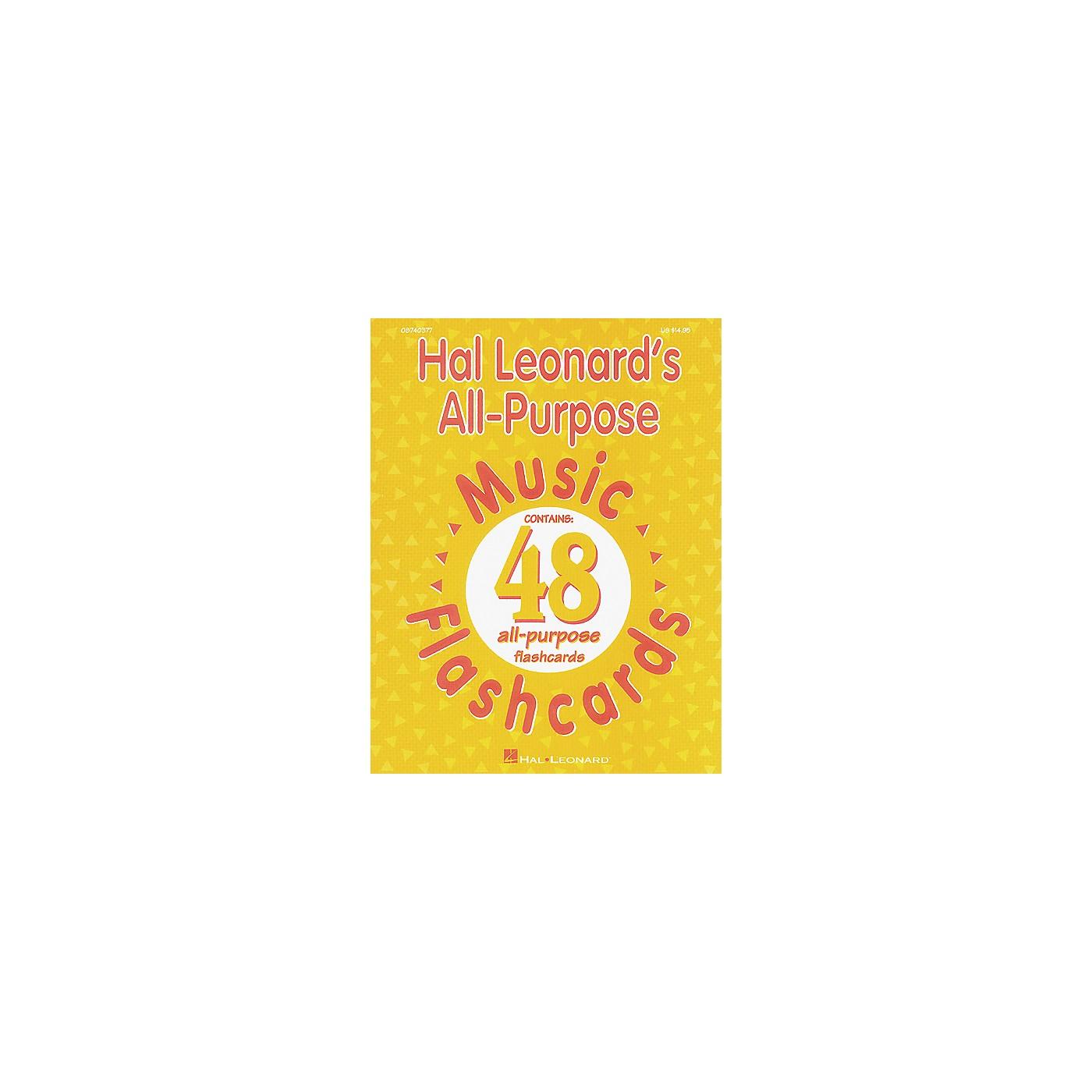 Hal Leonard All-Purpose Music Flashcards thumbnail
