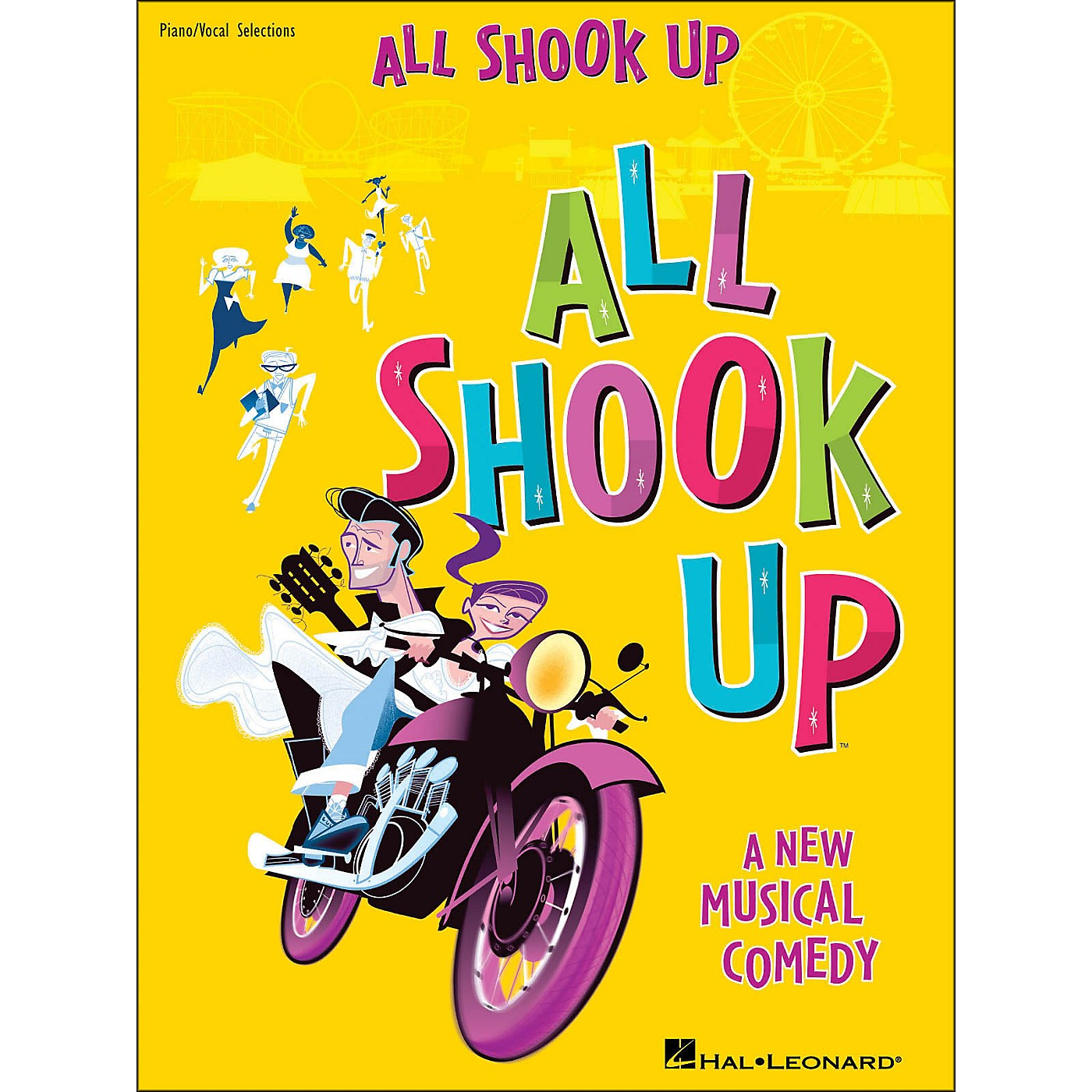 Hal Leonard All Shook Up arranged for piano, vocal, and guitar (P/V/G) thumbnail