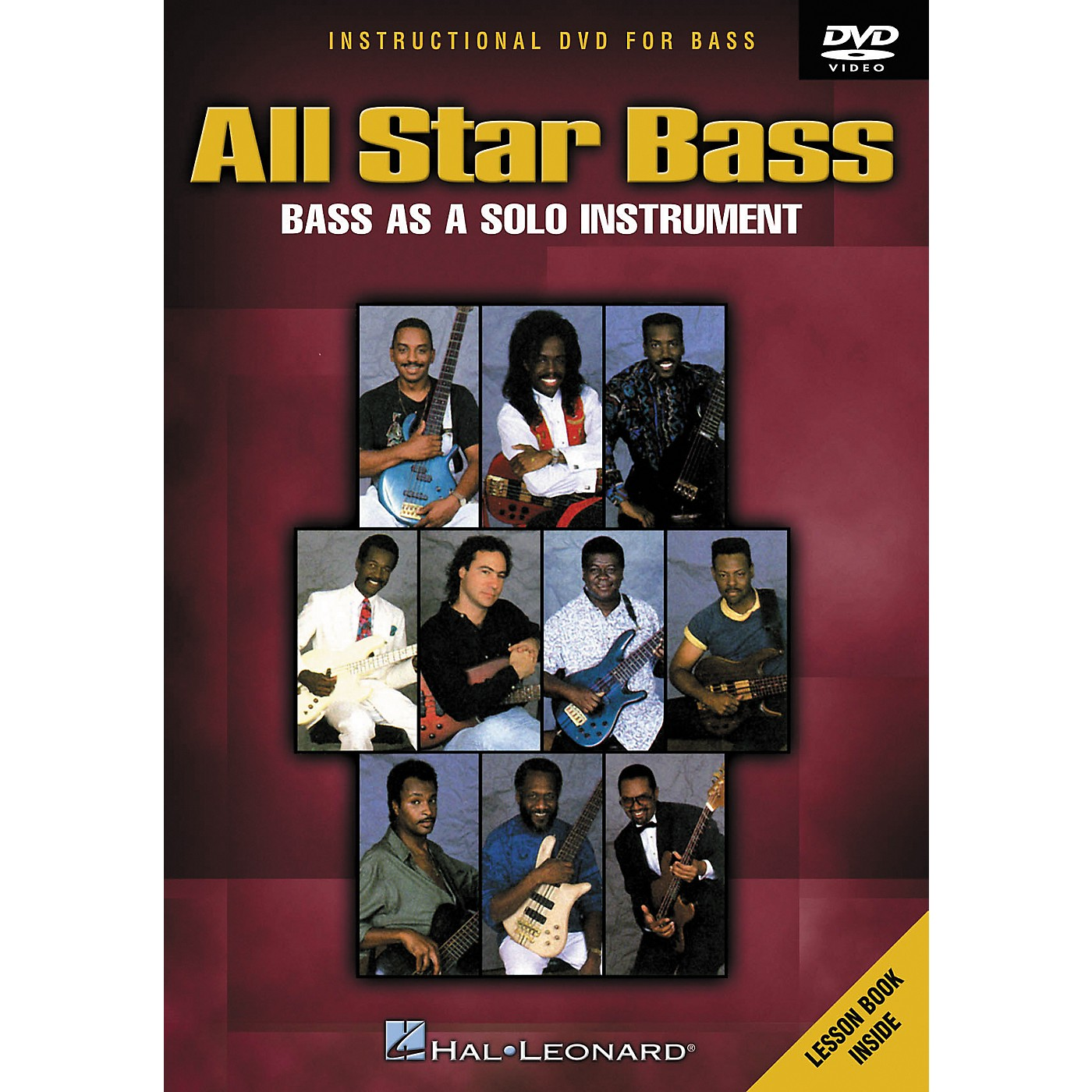 Hal Leonard All Star Bass - Bass As a Solo Instrument (DVD) thumbnail