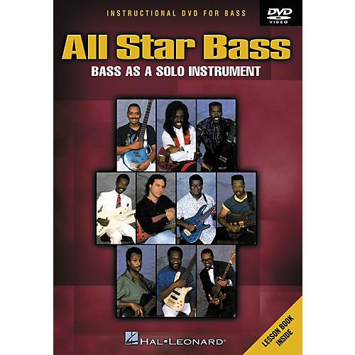 Hal Leonard All Star Bass - Bass As a Solo Instrument (DVD) thumbnail