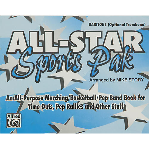 Alfred All-Star Sports Pak Baritone/Optional Trombone thumbnail