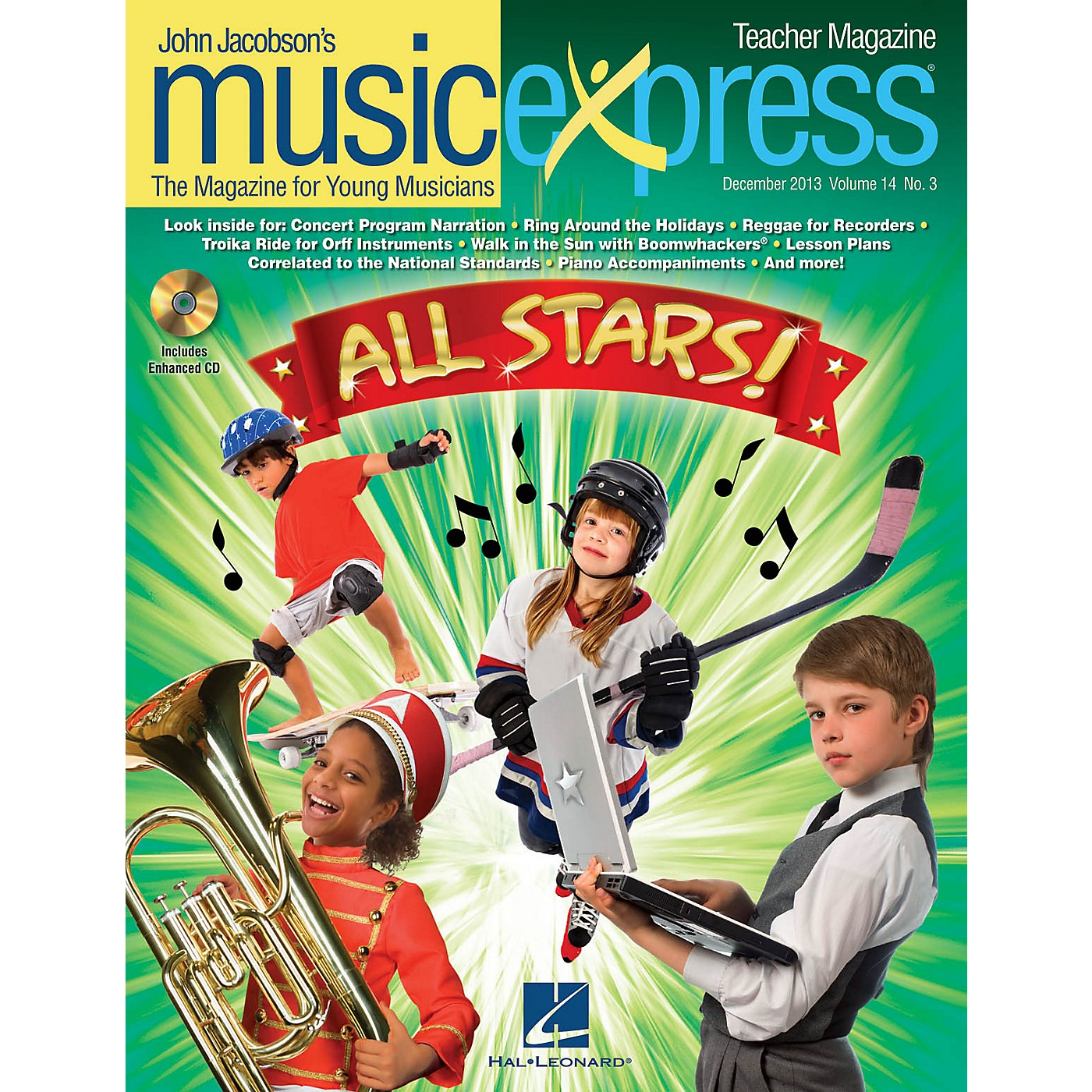 Hal Leonard All Stars Vol. 14 No. 3 (December 2013) PREMIUM COMPLETE PAK by Owl City Arranged by Roger Emerson thumbnail