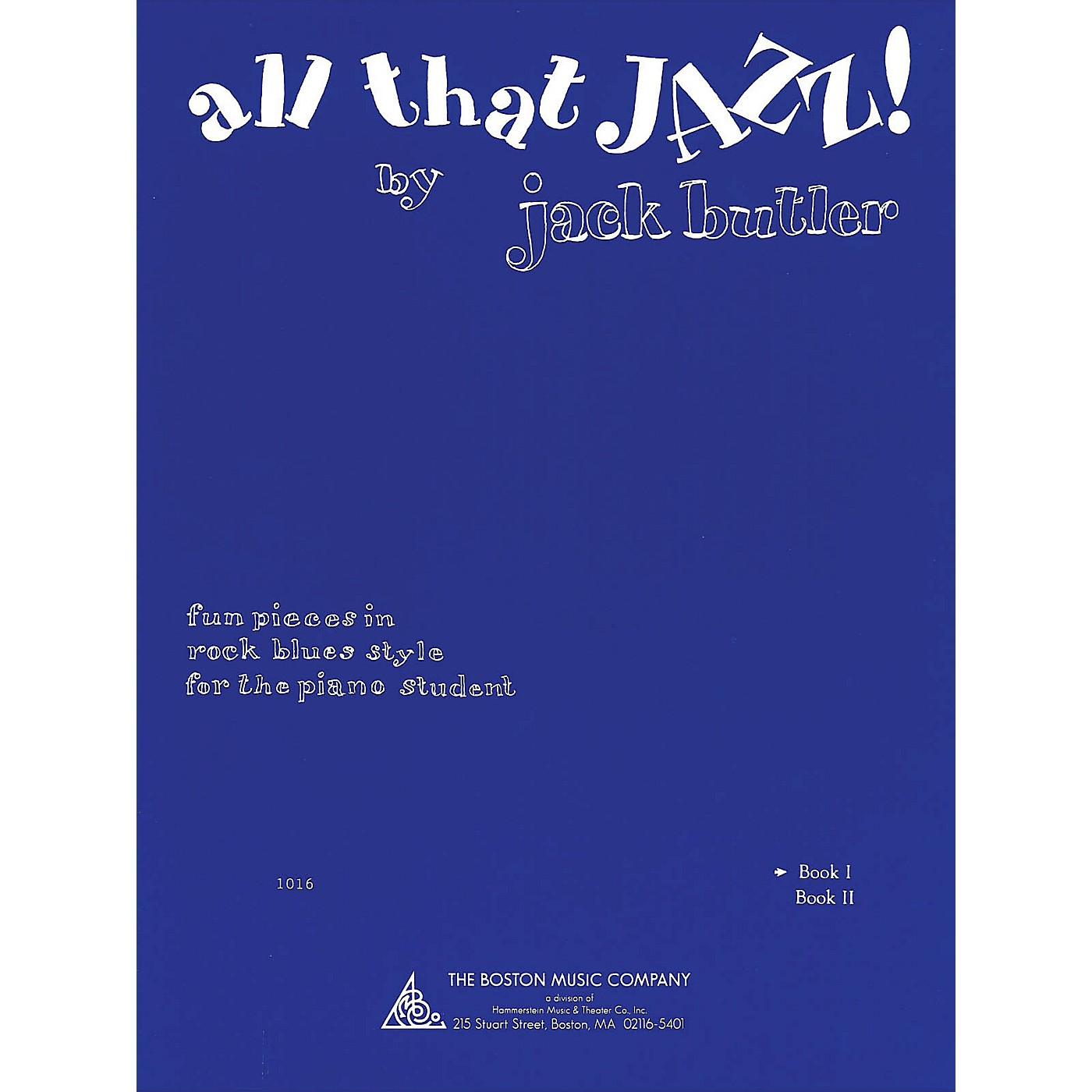 Music Sales All That Jazz! Book 1 Music Sales America Series Softcover Written by Jack Butler thumbnail