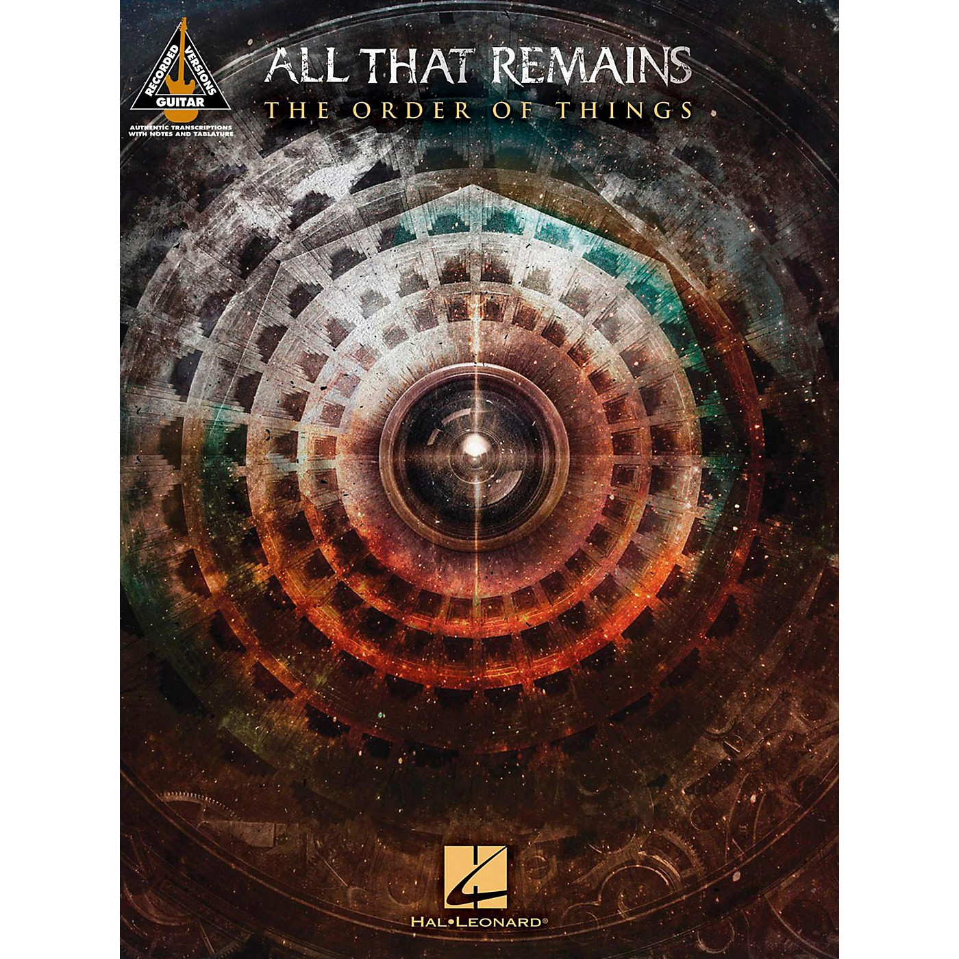 Hal Leonard All That Remains - The Order Of Things Guitar Tab Songbook thumbnail