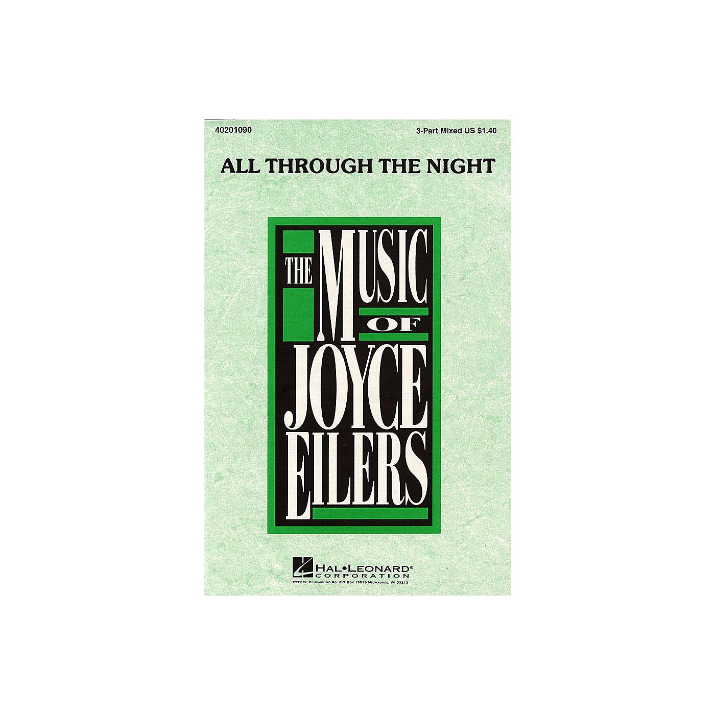 Hal Leonard All Through the Night (3-Part Mixed) 3-Part Mixed arranged by Joyce Eilers thumbnail