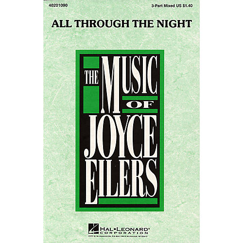 Hal Leonard All Through the Night (3-Part Mixed) 3-Part Mixed arranged by Joyce Eilers thumbnail