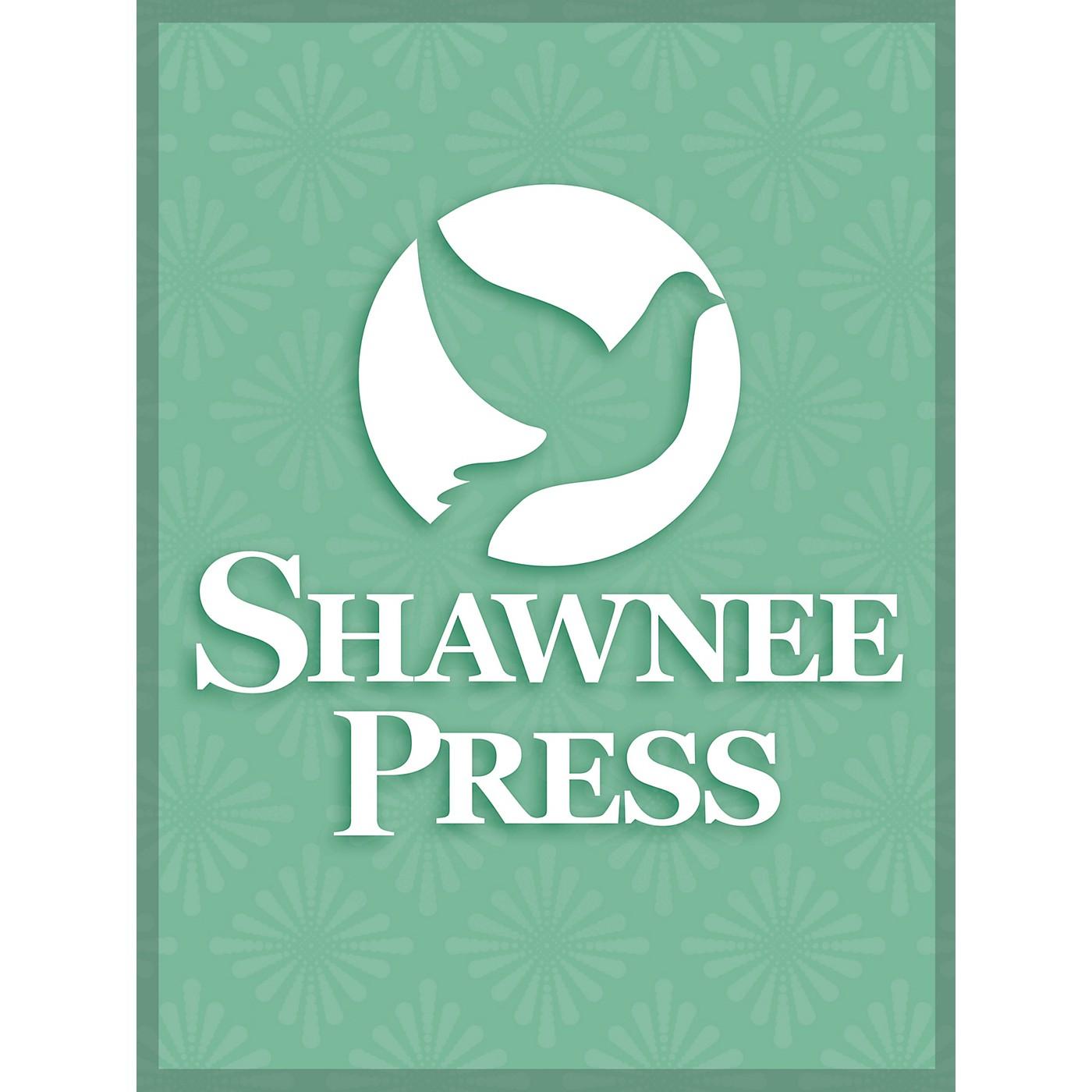 Shawnee Press All Through the Night SAB Arranged by Robert W. Kauffmann thumbnail