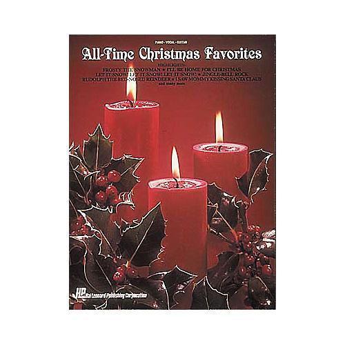 Hal Leonard All-Time Christmas Piano, Vocal, Guitar Favorites-thumbnail