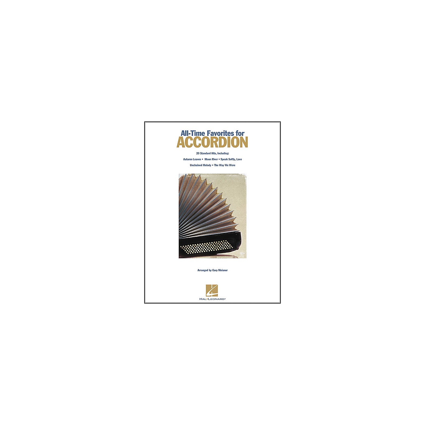 Hal Leonard All Time Favorites for Accordion Book thumbnail