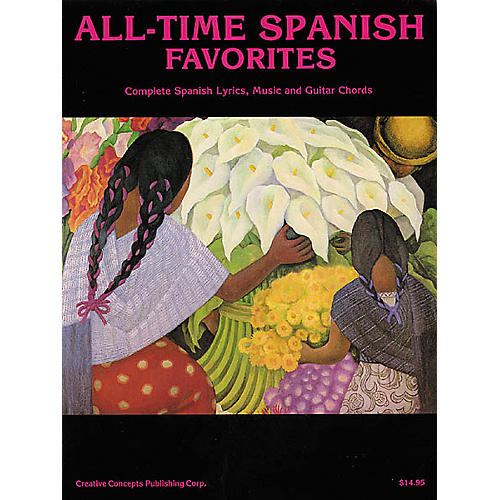 Creative Concepts All-Time Spanish Favorites (Songbook) thumbnail