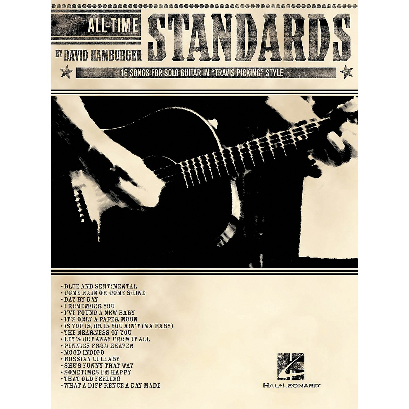 Warner Chappell Music All-Time Standards - 16 Songs for Solo Guitar in Travis Picking Style Tab (Book) thumbnail