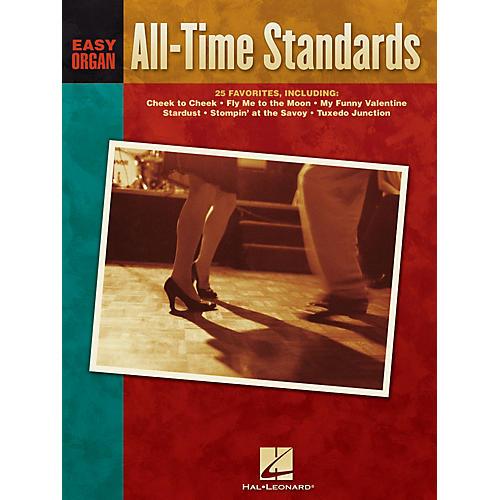 Hal Leonard All-Time Standards Easy Organ Adventure Series thumbnail