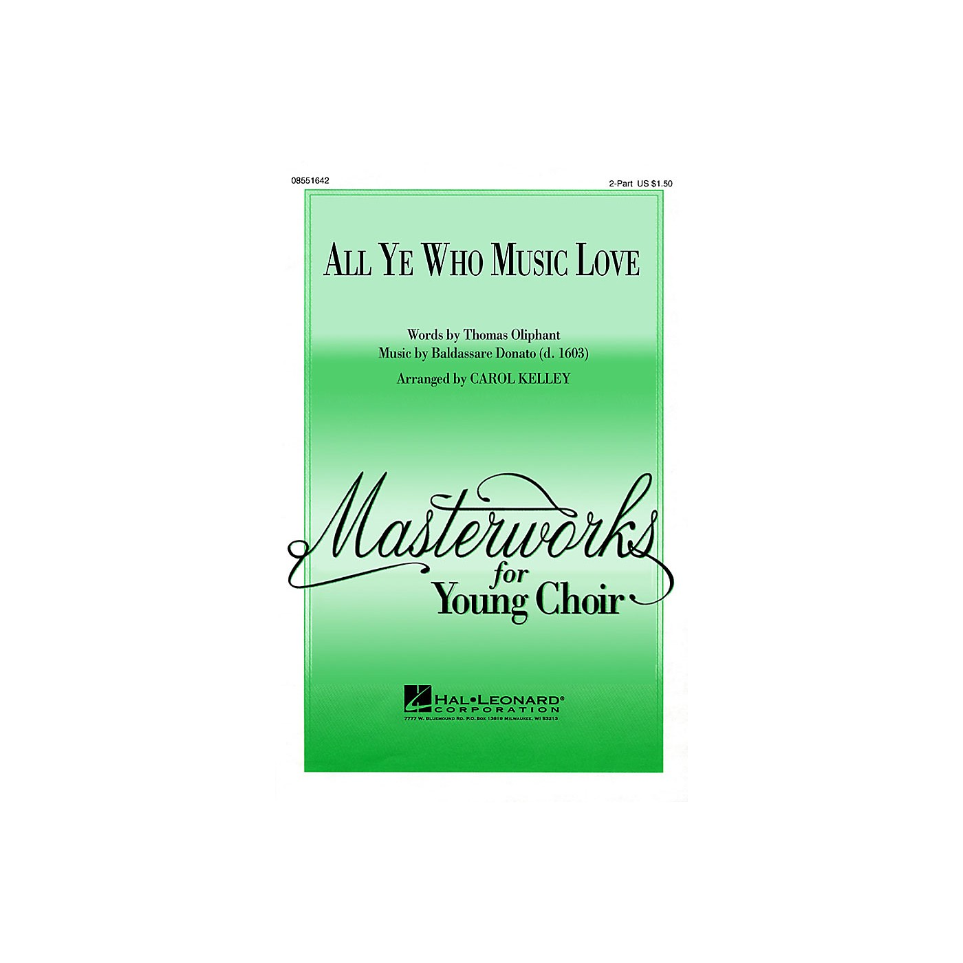 Hal Leonard All Ye Who Music Love thumbnail
