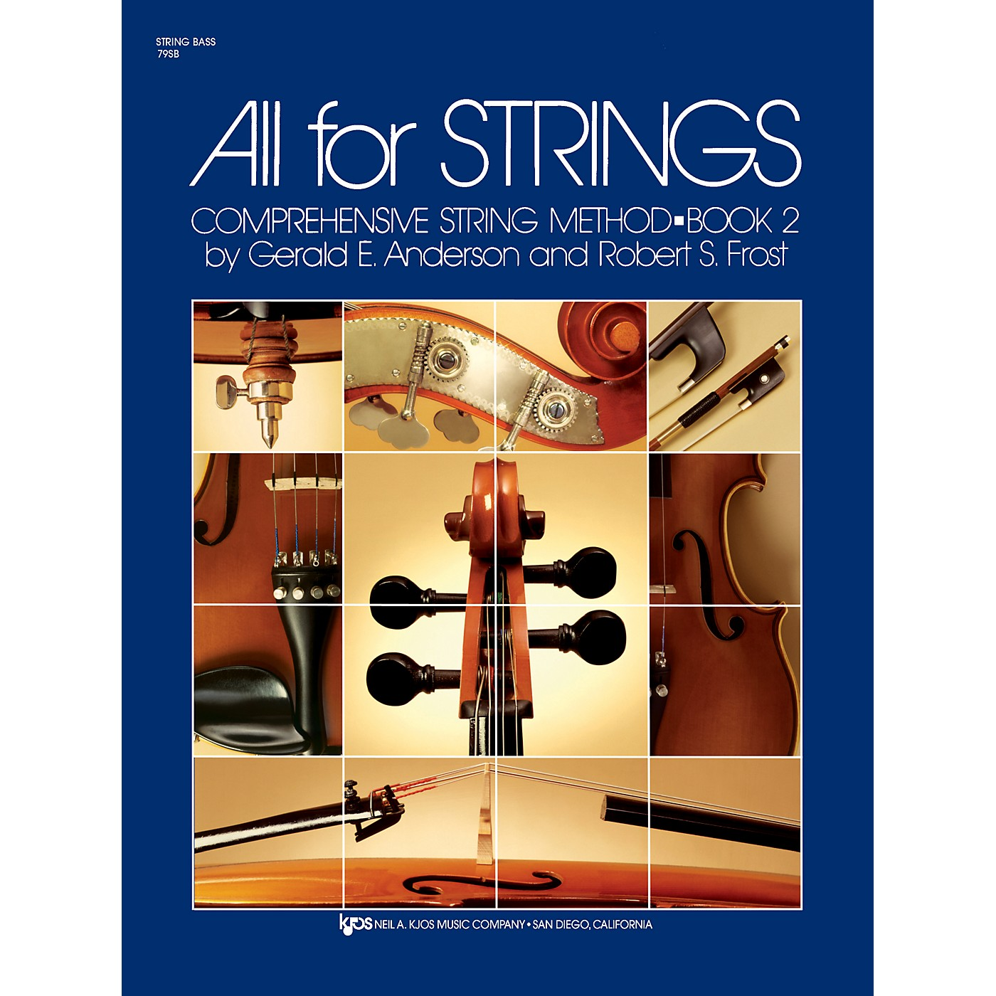 KJOS All for Strings String Bass Book 2 thumbnail