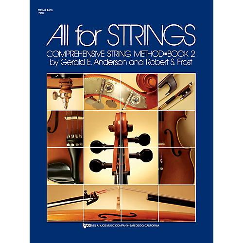 KJOS All for Strings String Bass Book 2 thumbnail