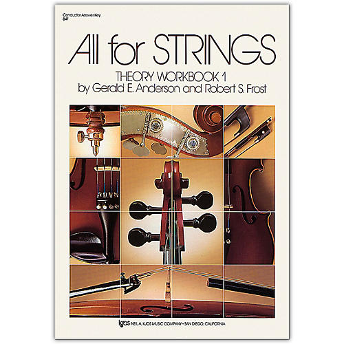 KJOS All for Strings Theory Workbook 1 Answer Key thumbnail