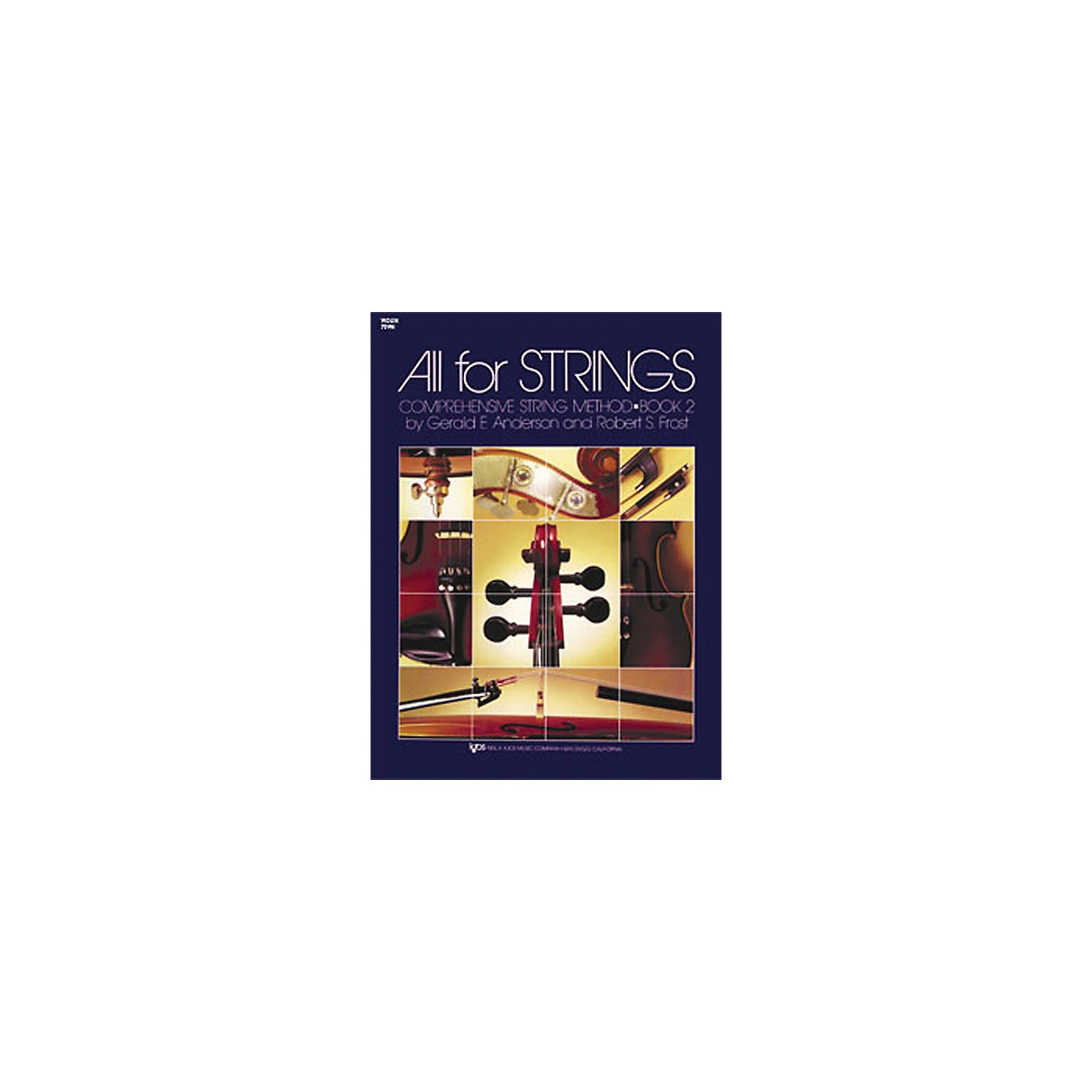 KJOS All for Strings Violin Book 2 thumbnail