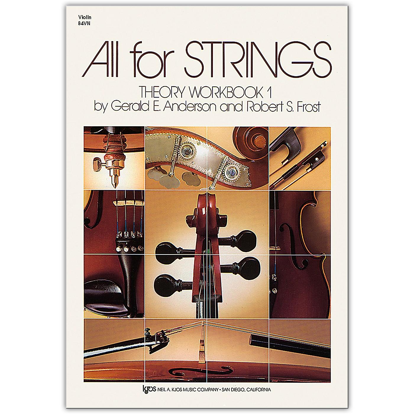 KJOS All for Strings Vol. 1 Workbook thumbnail