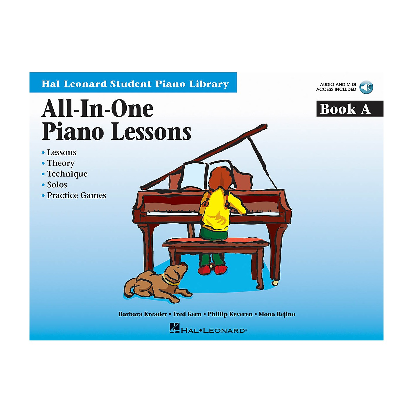 Hal Leonard All-in-One Piano Lessons Book A Educational Piano International Edition Series Softcover Audio Online thumbnail