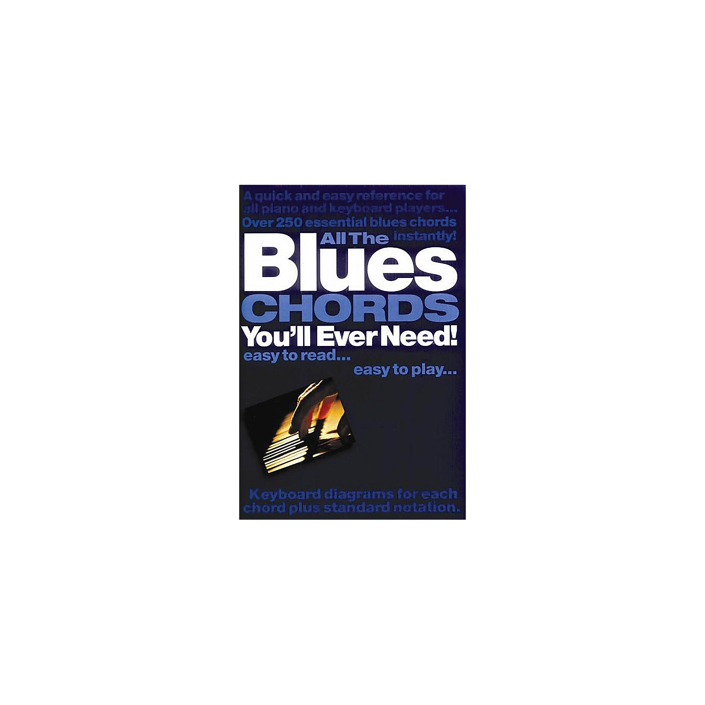 Music Sales All the Blues Chords You'll Ever Need Music Sales America Series Softcover Written by Jack Long thumbnail