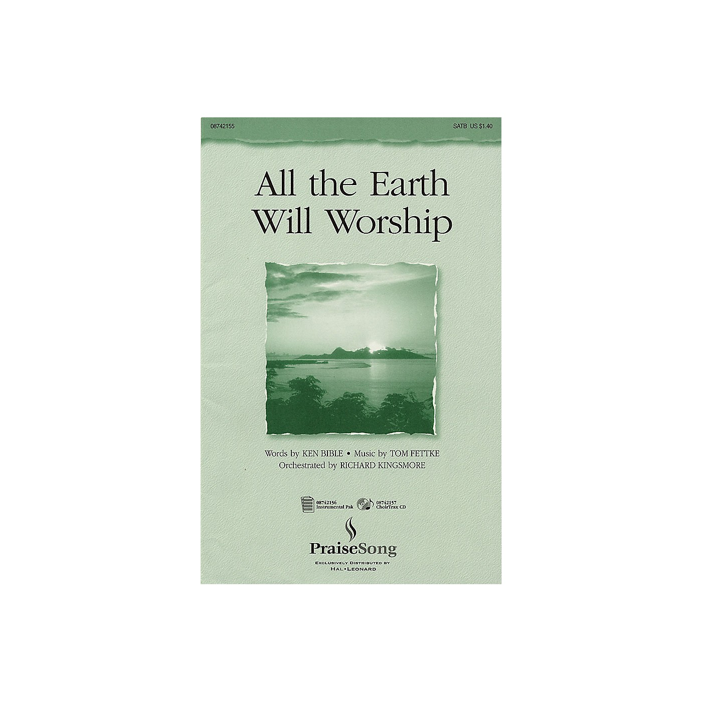 PraiseSong All the Earth Will Worship IPAKO Arranged by Richard Kingsmore thumbnail