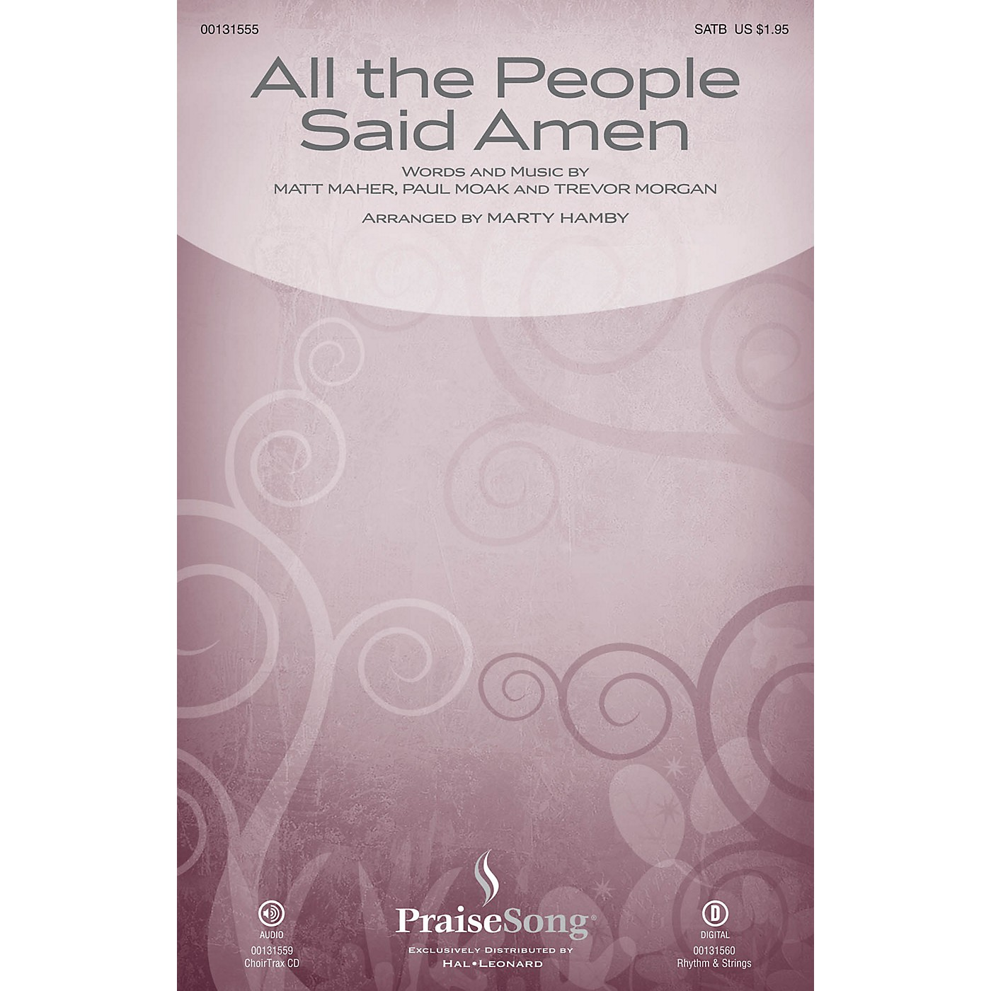 PraiseSong All the People Said Amen SATB by Matt Maher arranged by Marty Hamby thumbnail