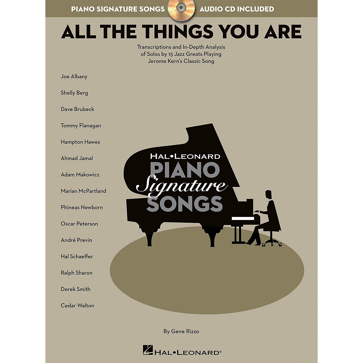 Hal Leonard All the Things You Are Signature Songs Series Softcover with CD Written by Gene Rizzo thumbnail